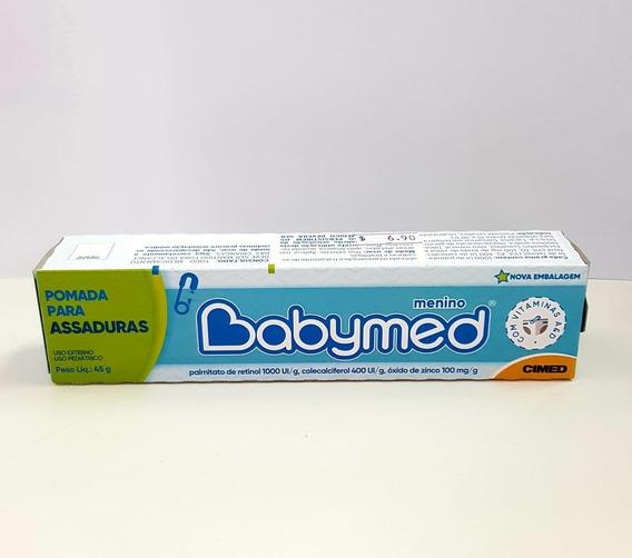 Kit C/24 Babymed Azul 45g Pomada De Assadura Igual A Hipoglos
