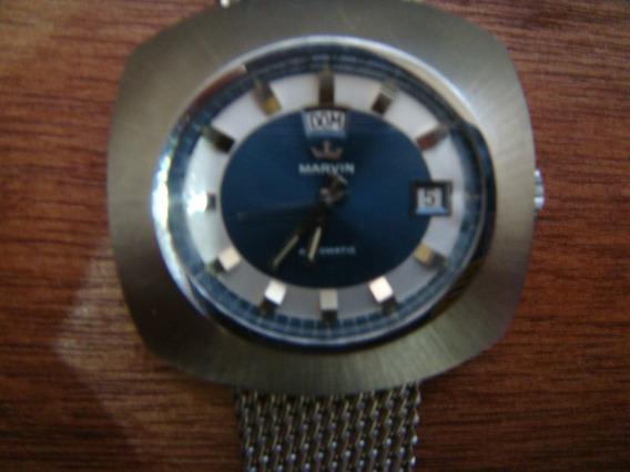 Reloj Marvin Automatic Suizo Original.