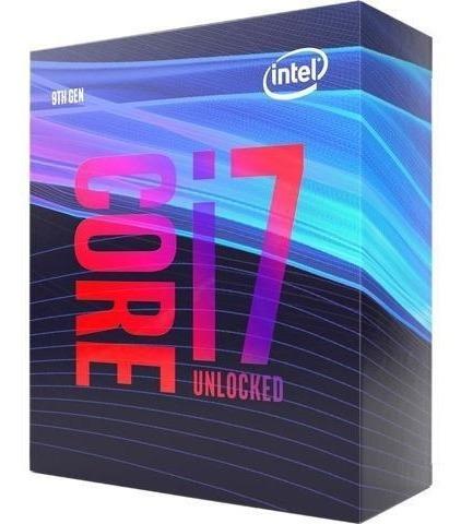 Processador Intel Core I7-9700k 3.7 Ghz 9mb Cache - Lga1151