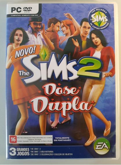The Sims 2: Dose Dupla Usado Para Pc - Único Dono