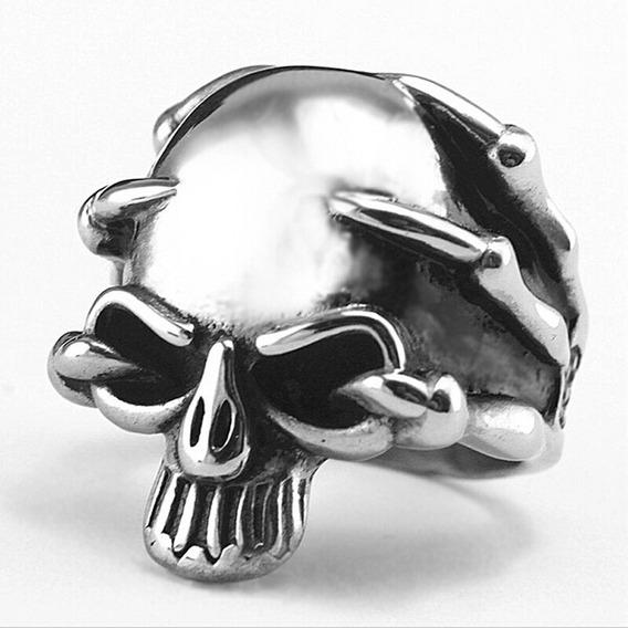 Anillo Para Hombre Modelo Skull Head