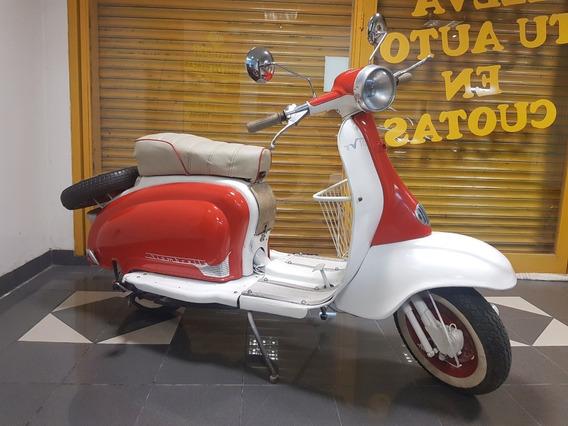 Moto Siambretta 175 Cc 1963 Restaurada - Arranca
