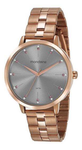 Relógio Mondaine Feminino Rose 53659lpmvre3 Garantia 1 Ano
