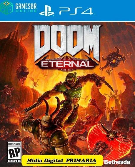 Doom Eternal - Ps4 Lançamento Envio Hoje Cod. 1 Promoção