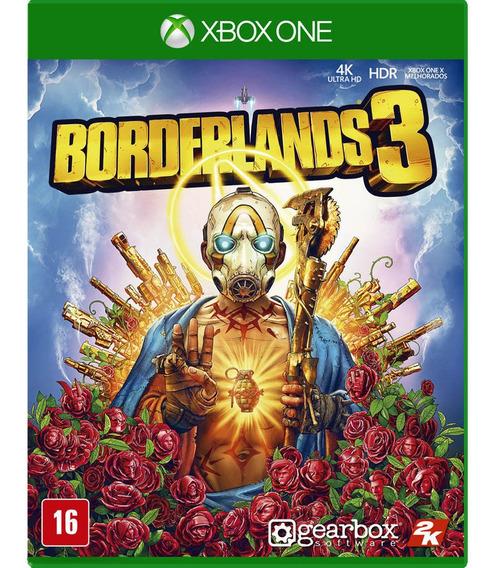Jogo Novo Midia Fisica Borderlands 3 Original Para Xbox One
