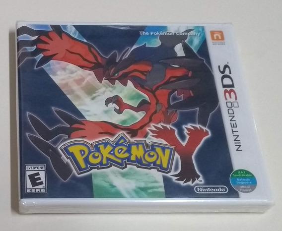 Pokémon Y - Novo E Lacrado Para 3ds