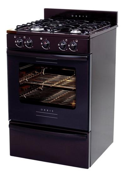 Cocina Orbis 838 Mc2 Marron Plana