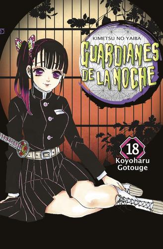 Guardianes De La Noche Kimetsu No Yaiba 18 Con Cofre