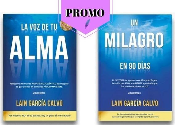 Libro: La Voz De Tu Alma + Un Milagro En 90 Dias Imperdible