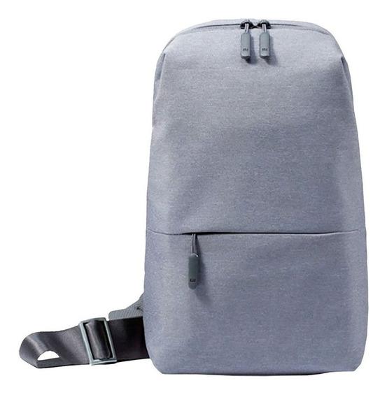 Mochila Xiaomi Backpack Mi City Sling Bag Gris Claro
