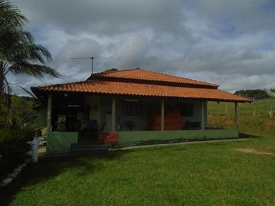 Sítio Com 4 Dormitórios À Venda, 121000 M² Por R$ 460.000 - Zona Rural - Jacui/mg - Si0006