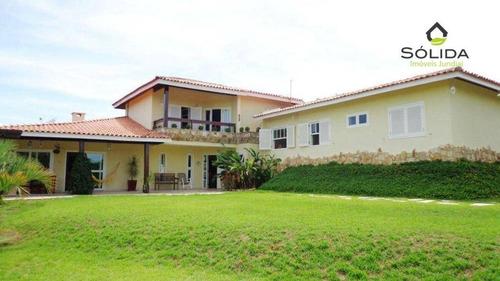 Imagem 1 de 30 de Casa Com 4 Dormitórios À Venda, 420 M² Por R$ 1.950.000,00 - Ville Chamonix - Itatiba/sp - Ca0625
