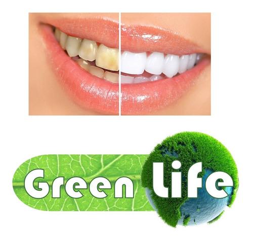 Imagen 1 de 9 de Blanqueador Diente Reduce Quita Manchas Cigarro Greenlife