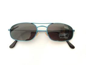 f1e8bb1c1 Oculos De Sol Raro Decada 80 Benetton Formula 1 Novo Azul