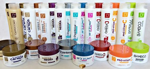60 Produtos = Mascara + Shampoo + Condicionador Atacado