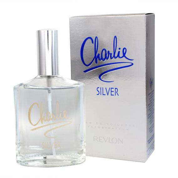 Charlie Silver 100 Ml Eau De Toilette Spray De Revlon