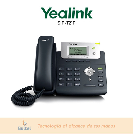 Telefono Ip | Yealink Sip-t21p |