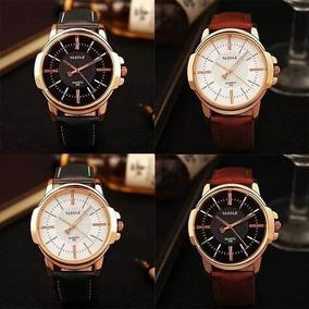 Combo 3 Relógios De Luxo Yazoles Vários Modelos E Cores
