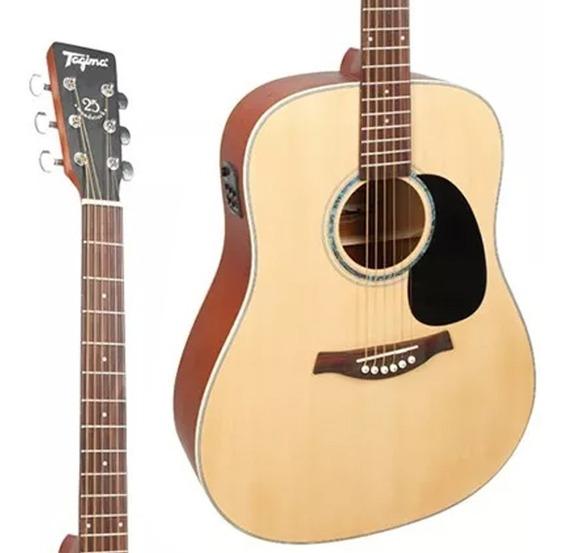 Violao Folk Tagima Woodstock Tw-25 Ns Oferta! Promoção