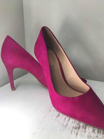 5cd8d2e49d Sapato Scarpin Arezzo Em Nobuck Pink