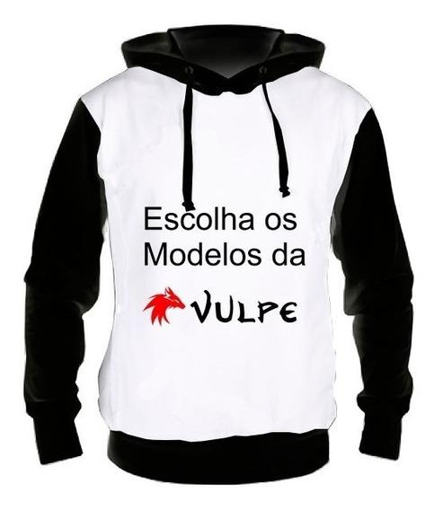 Kit 3 Blusas Moletom Casaco Frio - Modelos Da Vulpe