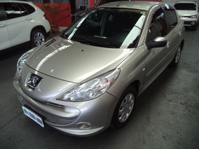 207 Xr Sport 1.4 Flex 8v 2012 Prata Completo Confira !!