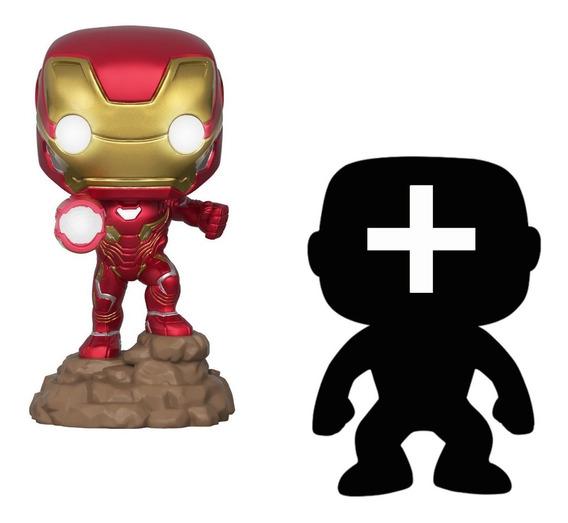 2 Figuras: Iron Man Iron-man Avengers Lights Up + Otra Funko