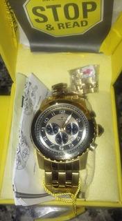 Reloj Invicta De Oro