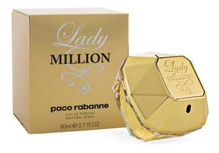 Lady Million De Paco Rabbane Eau De Parfum 80 Ml.