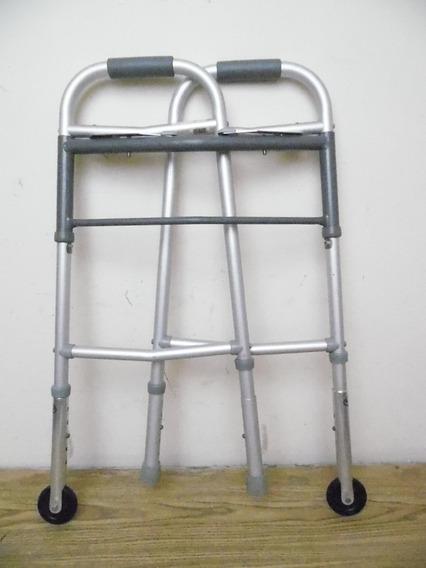 Andadera Caminadora Plegable Metalica Hasta 125 Kilos K693