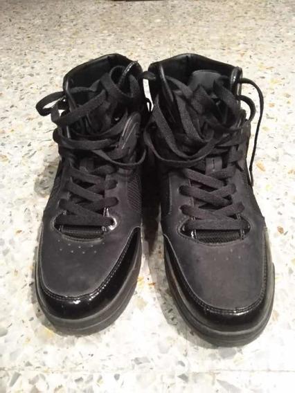 Zapatillas Zara Originales Hombre-detalle En Dorado Talle41