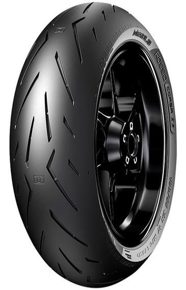 Pneu Moto Pirelli 200/55r17 78w Traseiro Diablo Rosso Corsa