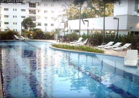 Apartamento Duplex Morumbi Vila Andrade 48m 1vaga E Varanda