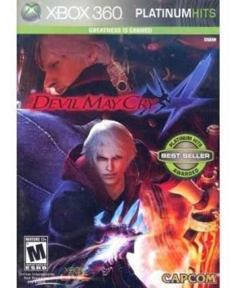 Xbox 360 - Devil May Cry 4 Platinum Hits