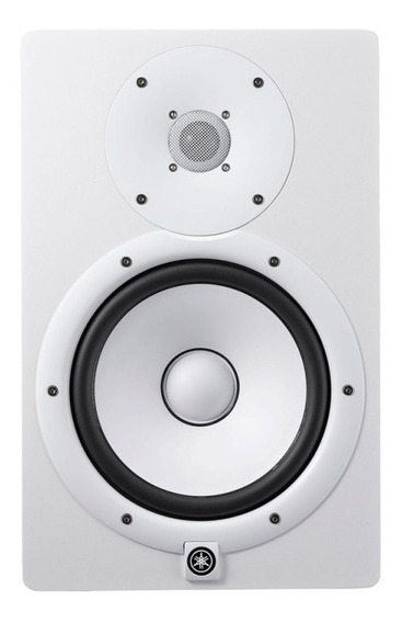 Monitor De Referência Yamaha Hs8 W Branco Bi-amplificado 1
