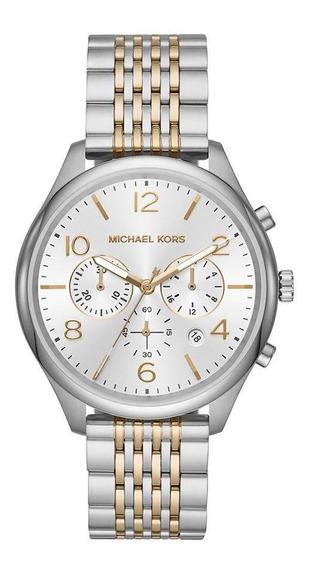 Relógio Michael Kors Feminino Merrick Prata Mk8660/1kn
