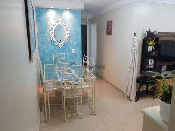 Apartamento Em Andar Alto Próximo Ao Metrô Sacomã. - Bi26033