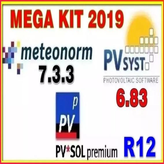 Pv.sol 2019 Premium R12+ Pvsyst 6.8.3 Premium+ Meteonorm 7.3