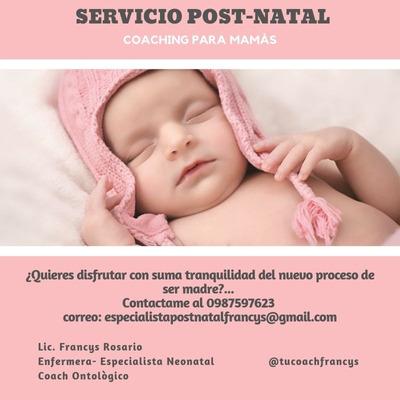 Servicio Postparto- Cuidado De Niños Horario Nocturno