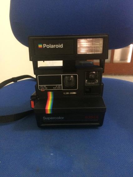 Câmera Polaroid Nunca Usada Super Color