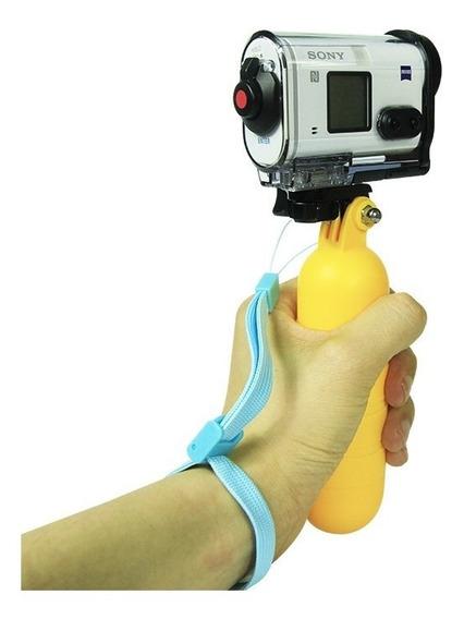 Bastão Flutuante Flutuador De Mão Sony Action Cam Todas
