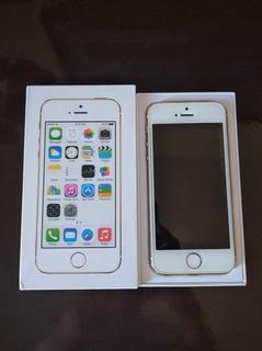 Celular iPhone 5s Dourado 16gb Tela De 4.0 (seminovo)
