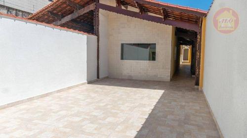 Casa À Venda, 250 M² Por R$ 470.000,00 - Aviação - Praia Grande/sp - Ca1466