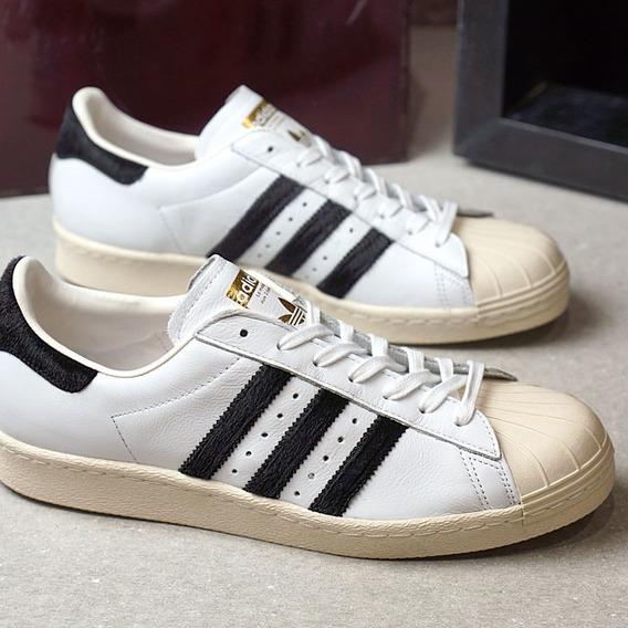 Tenis adidas Superstar 80s White And Black 100%originals