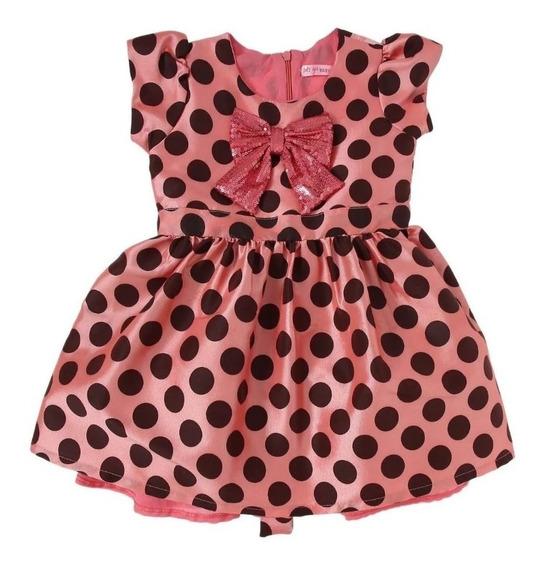 Vestido Lest Go Elegante Infantil Vintage C233 - C234