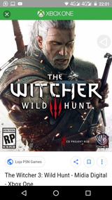 The Witch 3 Xbox One