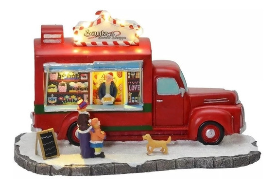 Cenario De Natal Vila Natalina Food Truck