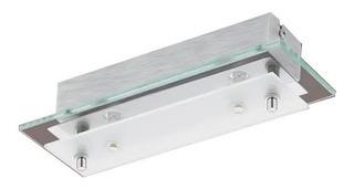 Aplique Rectangular Fres 2x5,4w 25 Cm Led Ronda