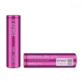 Kit 2 Bateria 18650 Efest Imr 3000 Mah 35a