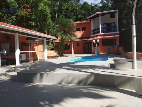 Imagem 1 de 22 de Sobrado Com 3 Dormitórios À Venda, 120 M² Por R$ 700.000,00 - Park Imperial - Caraguatatuba/sp - So1112